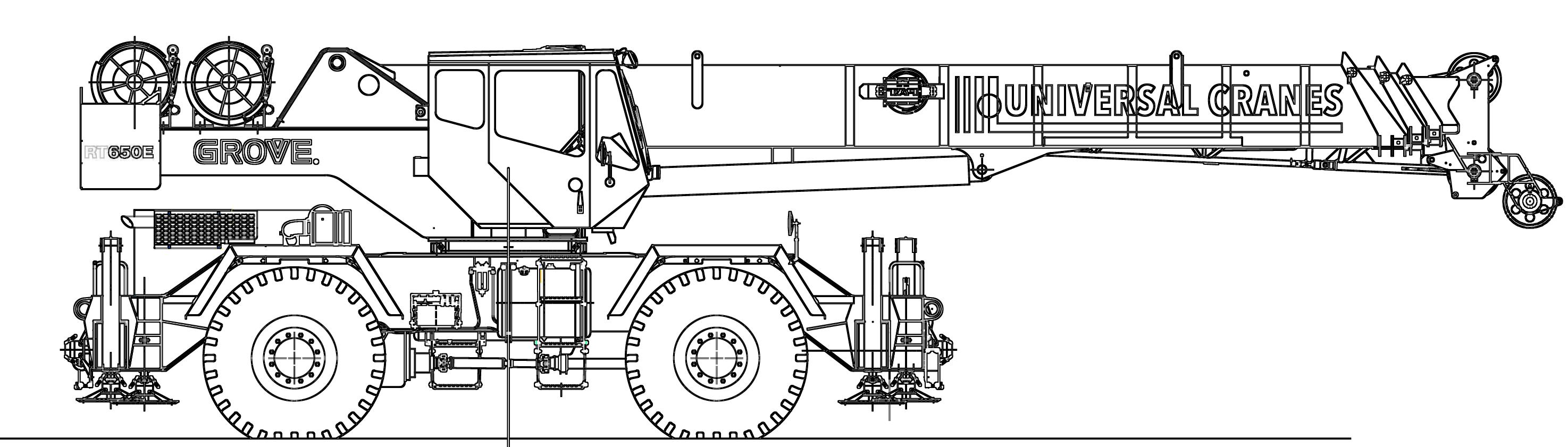45T Grove RT650E