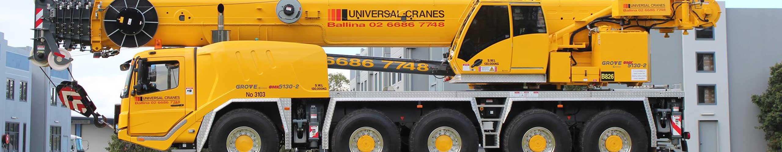 Universal Cranes Ballina