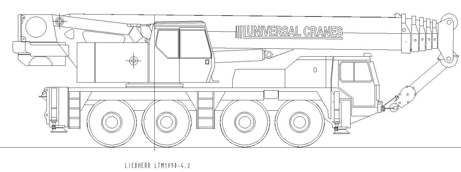 Liebherr LTM1090-4.2