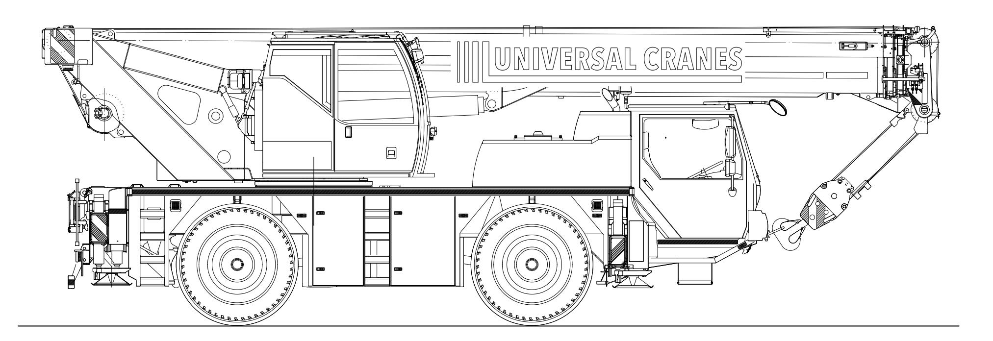 40T Liebherr LTM1040-2.1